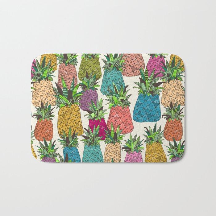 West Coast pineapples Bath Mat