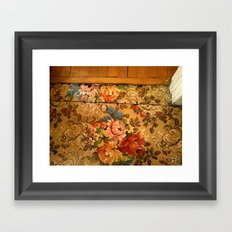 watch your step Framed Art Print