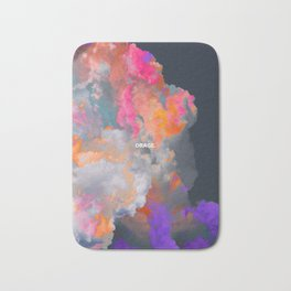 Orage (Colorful clouds in the sky III) Bath Mat
