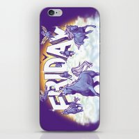 friday iPhone & iPod Skins featuring Friday! by littleclyde