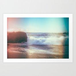 California Ocean Dreaming Art Print