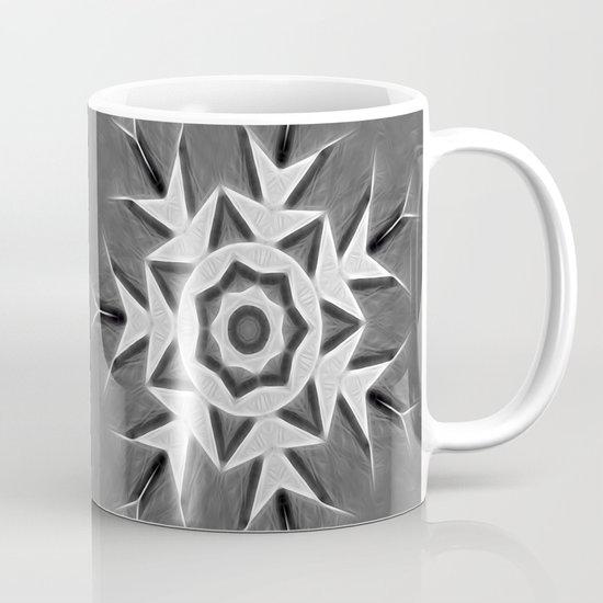 Gray Kaleidoscope Art 22 Coffee Mug