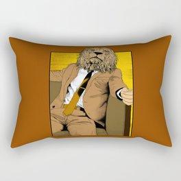 Pride of Lion Rectangular Pillow