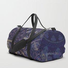Mandala in blue Duffle Bag