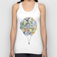bows Tank Tops featuring Bows & Butterflies by Romina M.