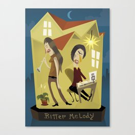 Bitter Meloy Canvas Print