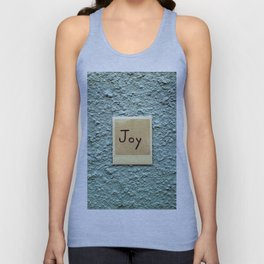 Joy Unisex Tank Top