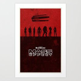 Mass Effect 1 Art Print