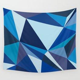 BLUE HUE Wall Tapestry
