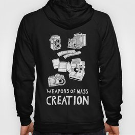 Weapons Of Mass Creation - Photography (white) Hoody