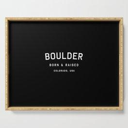 Boulder - CO, USA (Arc) Serving Tray
