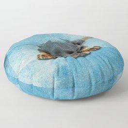 Dobermann Puppy - Doberman Pinscher Floor Pillow