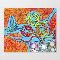 Hummingnectar Canvas Print