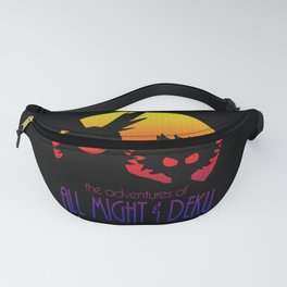 All Might & Deku Adventure Fanny Pack