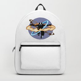 Aang going into uber Avatar state Backpack