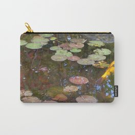Koi Pond and Lilypads Carry-All Pouch