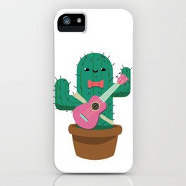 The friendly prickly cactus iPhone Case