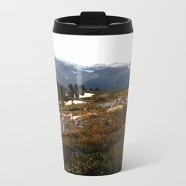 Elfin lake twilight Metal Travel Mug