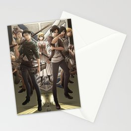 Attack on titan 3 Stationery Cards
