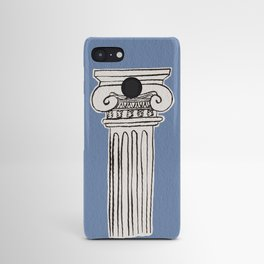Greek ionic column Android Case