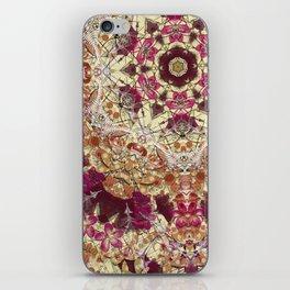 Maroon Ginko iPhone Skin