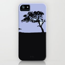 abstract landscape iPhone Case