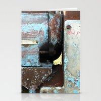 metal Stationery Cards featuring METAL by The Family Art Project