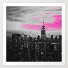 PINK New York Art Print