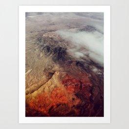 Arizona Mountains Art Print