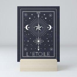 L'Etoile or The Star Tarot Mini Art Print