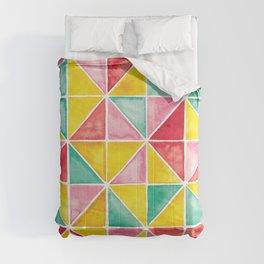 Triangle Tiles | Sorbet Colours Comforters