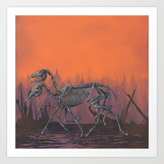 Sleipnir Art Print