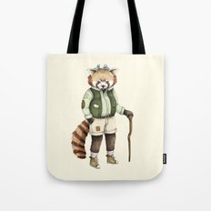 Red Panda Ranger Tote Bag