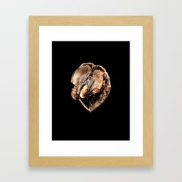 walnut Framed Art Print