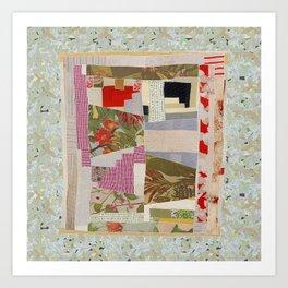 Quiltscape 1 Art Print