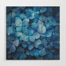 Fifty Shades of Blue Wood Wall Art