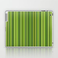 Many multicolored strips in the green sample Laptop & iPad Skin