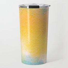 Modern Multi Color Abstract Travel Mug