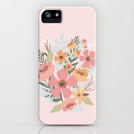 merci bouquet  iPhone Case