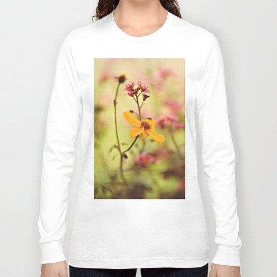 Lemon drop Flower box Long Sleeve T-shirt