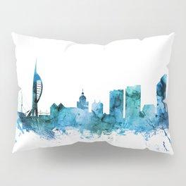 Portsmouth England Skyline Pillow Sham