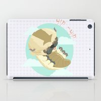 aang iPad Cases featuring Appa - Avatar the legendo of Aang by Manfred Maroto