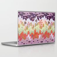 crystal Laptop & iPad Skins featuring Crystal Forest by LordofMasks