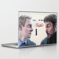 fargo Laptop & iPad Skins featuring Fargo tv serie by Magdalena Almero