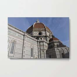 The Duomo, the Cathedral of Santa Maria del Fiore - Wild Veda Metal Print