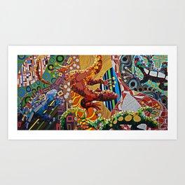 LUCERTAE Art Print