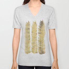 Golden Seaweed Unisex V-Neck