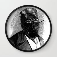 bdsm Wall Clocks featuring BDSM XIII by DIVIDUS