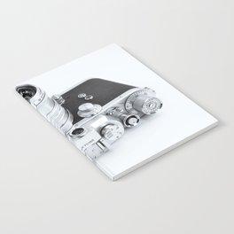 1950s Nicca 3-S 35mm Film Camera in Black & White Notebook