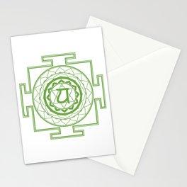 Sri Yantra Heart Chakra Stationery Cards